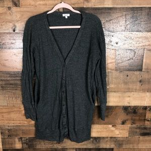 Splendid button up sweater